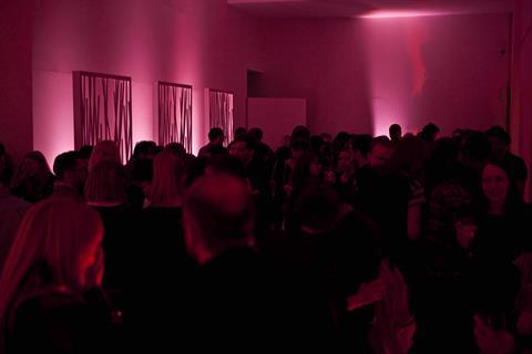 The scene at the after party at Haunch of Venison Gallery in London